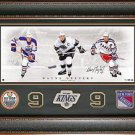 Wayne Gretzky Autographed Photo Framed Display