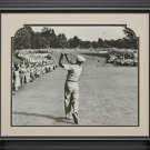 Ben Hogan 1 Iron Shot Framed 11x14 Photo