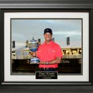 Tiger Woods Wins WGC-Cadillac Championship Photo Framed