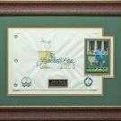 Adam Scott Signed 2013 Presidents Cup Flag Display