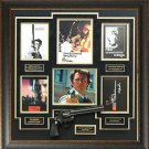 Clint Eastwood Autographed Dirty Harry Display