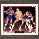 Wilt Chamberlain Basketball Photo Framed