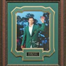 Adam Scott Signed Masters Green Jacket Photo Display.