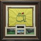 2014 Masters Flag Framed Display