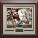 Serena Williams Wins Sony Ericsson 16x20 Photo Framed