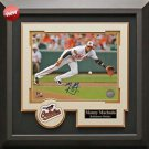 Manny Machado Signed Baltimore Orioles Framed Photo