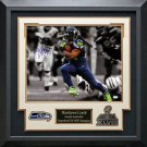 Marshawn Lynch Signed Seahawks Photo Display.