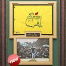 Adam Scott Autographed Masters Flag Framed Display