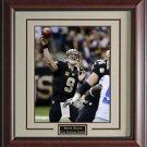 Drew Brees New Orleans Saints Photo Display.