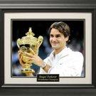 Roger Federer Wimbledon 11x14 Photo Framed