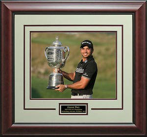 Jason Day Wins 2015 PGA Championship 11x14 Trophy Photo Display.