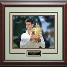 Novak Djokovic Wins 2014 Wimbledon Photo Display.