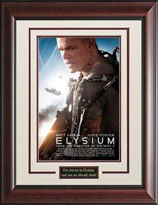Elysium Framed Movie Poster