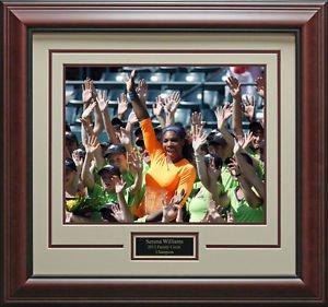 Serena Williams Wins Family Circle Champion 16x20 Photo Framed