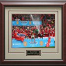 Manchester United 2013 Premier League Champion Photo Framed