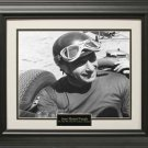 Juan Manuel Fangio Photo Matted and Framed