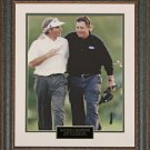 Fred Couples & Phil Mickelson Masters 11x14 Photo Framed.