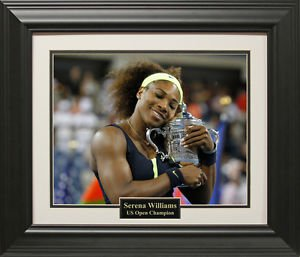 Serena Williams US Open 16x20 Photo Framed