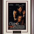 Casino 11x17 Movie Poster Display.