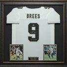 Drew Brees Signed Jersey Framed