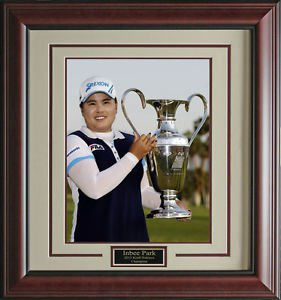 Inbee Park Wins Kraft Nabisco 11x14 Photo Framed