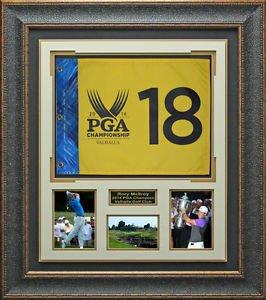 Rory McIlroy 2014 PGA Champion Flag Display.