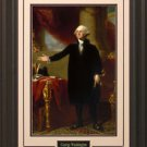 George Washington Portrait 16x20 Photo Framed