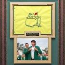 Bubba Watson 2014 Masters Champion Framed Display