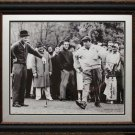 Arnold Palmer with Jackie Gleason 11x14 Photo Framed