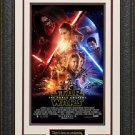 Star Wars The Force Awakens Mini Movie Poster Display.