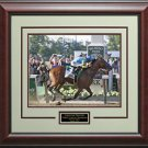American Pharoah 2015 Triple Crown Winner Belmont Stakes 16x20 Photo Display.