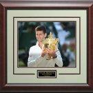 Novak Djokovic Wins 2014 Wimbledon 11x14 Photo Display.