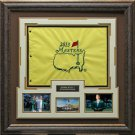 Adam Scott 2013 Masters Champion Photo with Masters Flag Framed