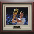 Andy Murray 2013 Wimbledon Framed 11x14 Photo