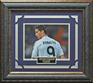 Cristiano Ronaldo Real Madrid C.F. Framed Photo
