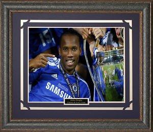 Didier Drogba Chelsea Framed Photo