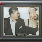 Ronald Reagan & Marilyn Monroe Framed 11x14 Photo