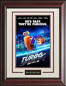 Turbo Framed Movie Poster