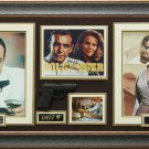 Sean Connery & Honor Blackman Signed Goldfinger Display