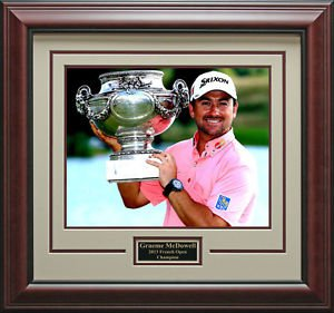 Graeme McDowell Wins French Open Framed 16x20 Photo