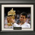 Wimbledon Champion Novak Djokovic 16x20 Photo Framed