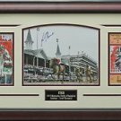Orb Wins Kentucky Derby Signed Photo Framed