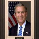 George W. Bush Portrait Photo Framed