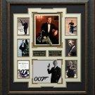 Daniel Craig Signed James Bond Collage Display.