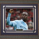 Mario Balotelli Manchester City Framed Photo