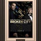 Broken City Framed Movie Poster