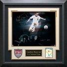 Landon Donovan Signed USA Soccer Photo Framed