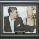 Ronald Reagan & Marilyn Monroe Framed 16x20 Photo