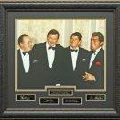 Ronald Reagan with Dean Martin, John Wayne, Bob Hope Photo Display