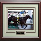 American Pharoah Wins 2015 Kentucky Derby 11x14 Photo Display.